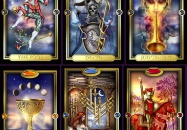 design a tarot reading around your question or topic