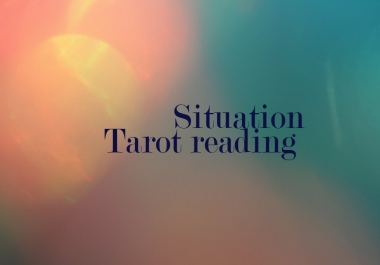 tell you how your present situation will evolve through tarot