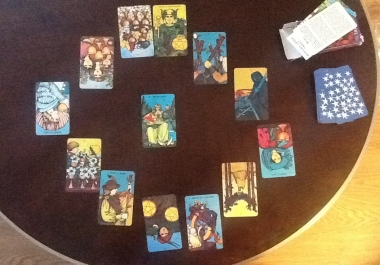 Read your 12 Month Tarot Spread