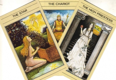 do OneCard Tarot Reading for THREE questions