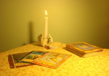 give detailed Oracle card reading on a question or general topic