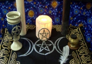 cast a positive spell for you