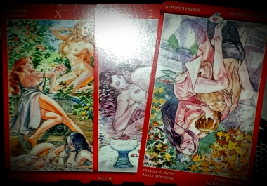 give you a three card reading