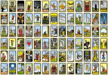 do a simple 7 card yes or no spread to help answer that question for you