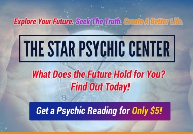 give you a Professional Psychic Reading 500 Words