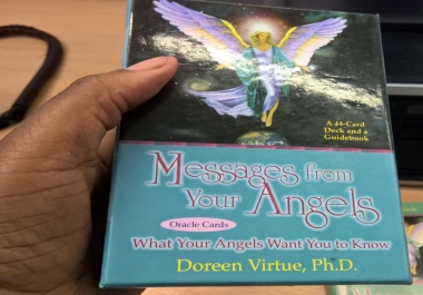 send you a angel oracle card reading via email