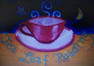 carry out a tea leaf reading via email