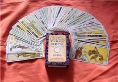 do a tarot reading with two types of spreads