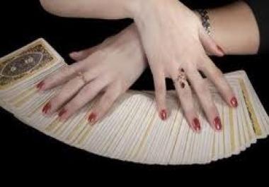I will do a detailed tarot card reading