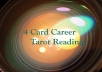 read if the career you're in is the right one through tarot cards